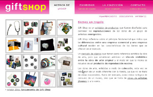 giftSHOP reproduce obras originales...